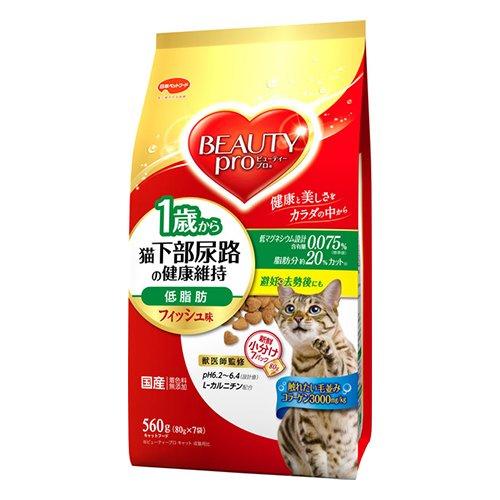 猫下部尿路の健康維持 低脂肪 1歳から フィッシュ味