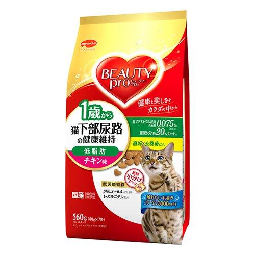 猫下部尿路の健康維持 低脂肪 1歳から チキン味