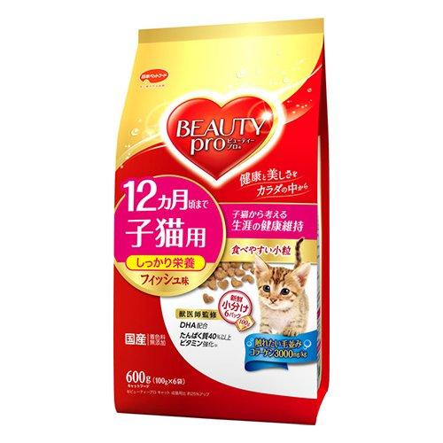 子猫用 12ヵ月頃まで フィッシュ味