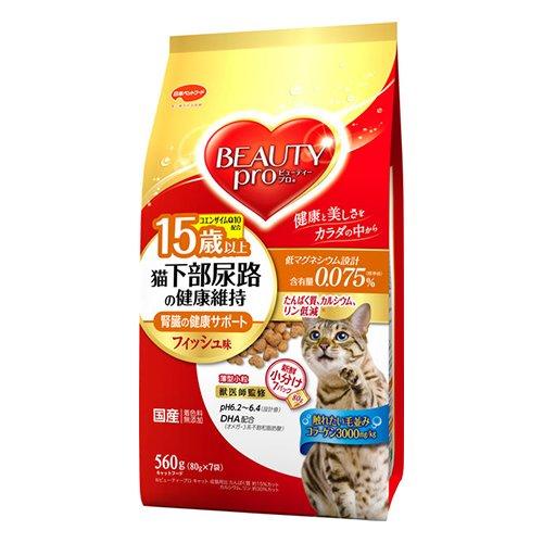 猫下部尿路の健康維持 15歳以上 フィッシュ味