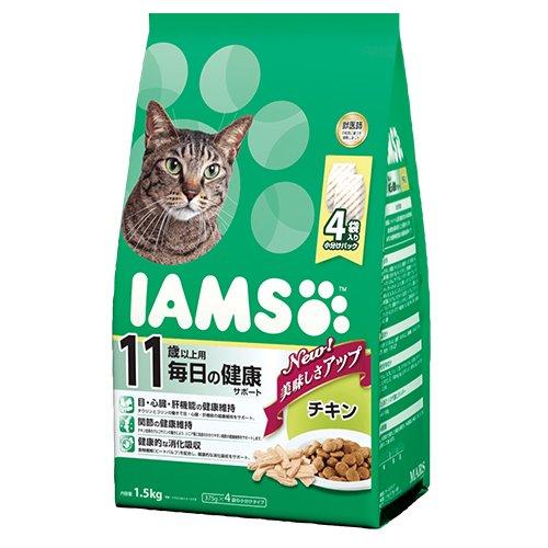 シニア猫用 11歳以上用 毎日の健康サポート チキン