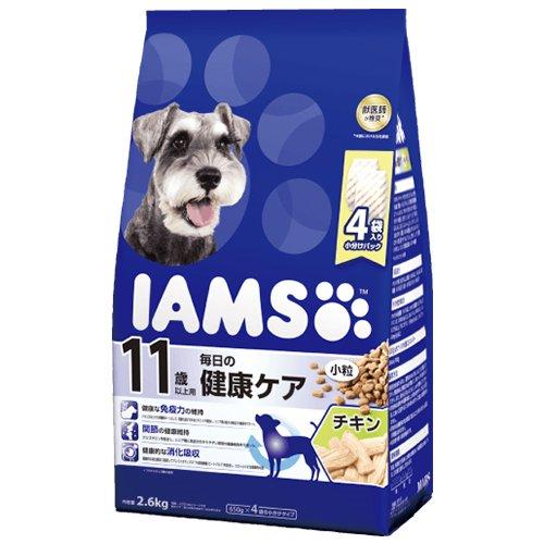 シニア犬用 11歳以上用 毎日の健康ケア チキン小粒