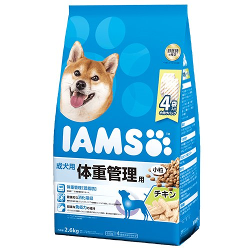 1歳以上 成犬用 体重管理用 チキン小粒
